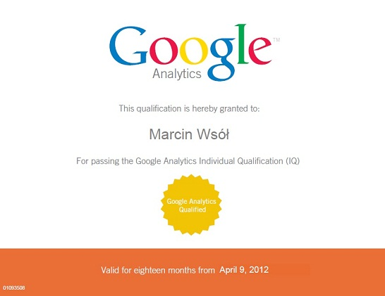 Google Analytics Individual Qualification - GAIQ