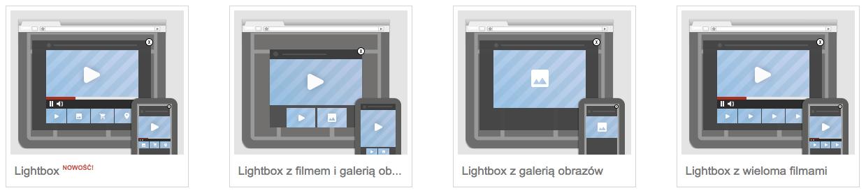 Reklamy typu lightbox